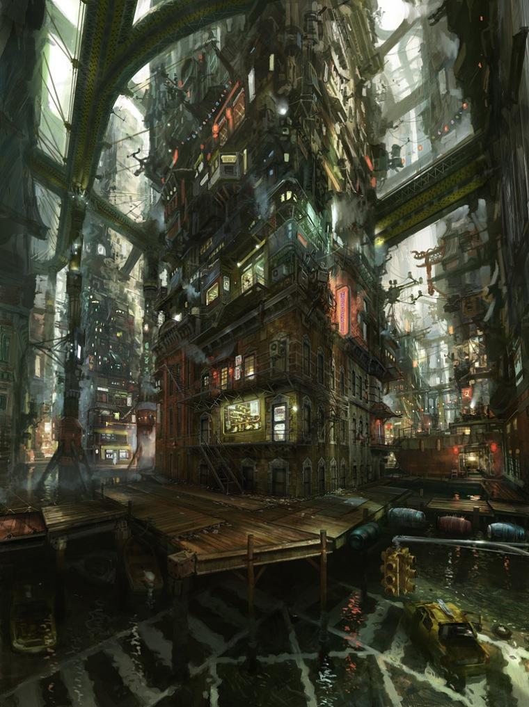 Chinatown by John Liberto