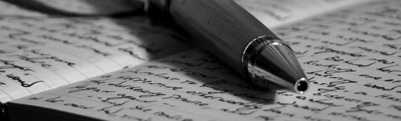 A writing pen image, which is super original on a writing blog. It's all I could do on short notice, cut me some slack okay.