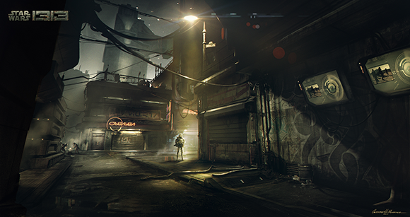 Star Wars 1313 Alley by Gustavo Mendonca