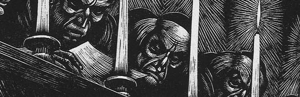 Fritz Eichenberg Woodcut Illustrations of the work of Edgar Allen Poe