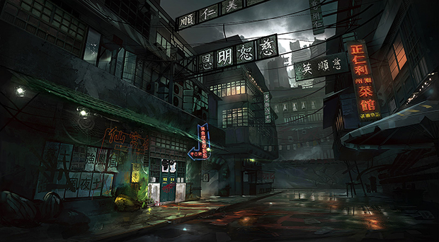 King Tong Street YAO by Robin Olausson