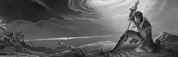Cover Reveal for Brandon Sanderson's Words of Radiance by Michael Whelan