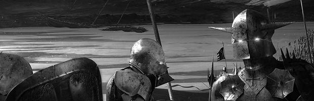 Crusaders (Detail) by Kuldar Leement