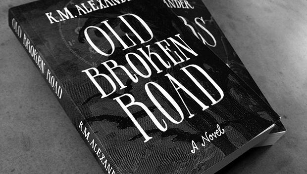 Old Broken Road cover detail