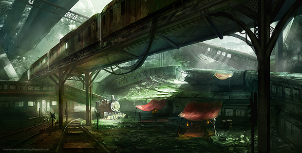 """Train Graveyard"" by Jordan Grimmer"