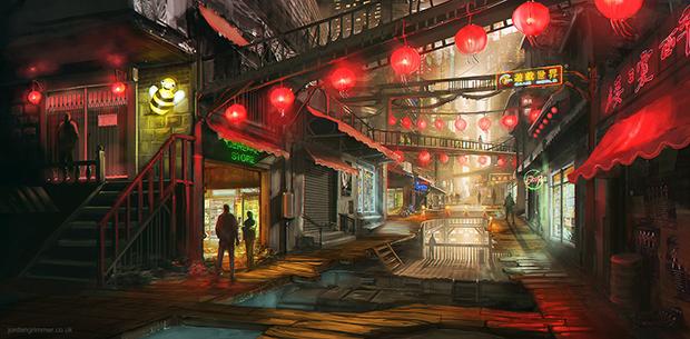 """Wall Market"" by Jordan Grimmer"