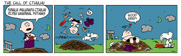Peanuts Call of Cthulhu