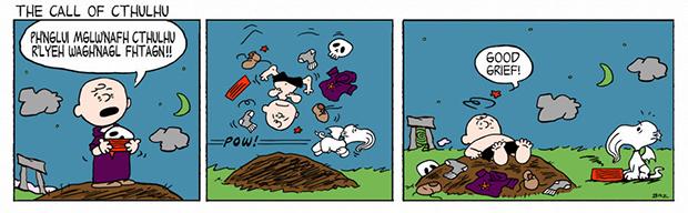Peanuts Call of Cthulhu