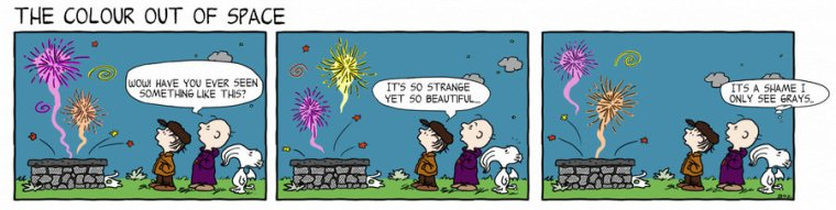 Peanuts Color Out of Space