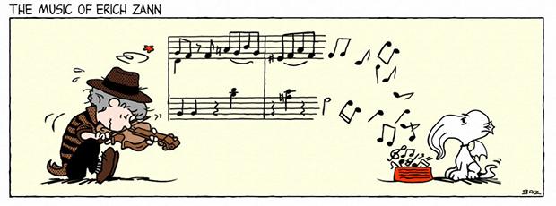 Peanuts The Music of Erich Zann