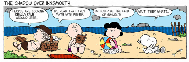 Peanuts Shadows Over Innsmouth