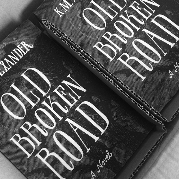 UPS just delivered a Fresh box of Old Broken Road. :D Yay!!