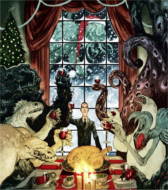 Lovecraftian Christmas by Nelson Evergreen