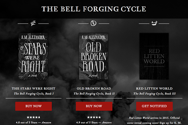 The Bell Forging Cycle by K. M. Alexander