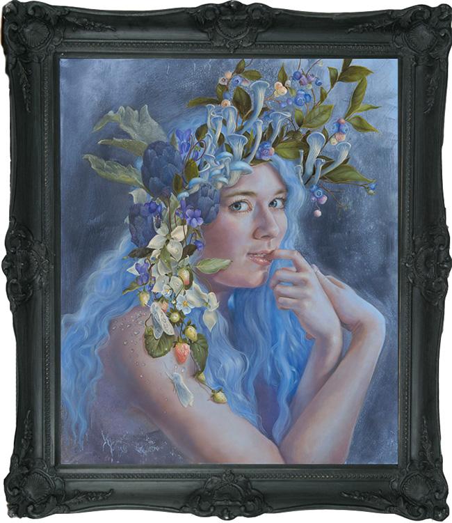 Inflorescence by Kari-Lise Alexander