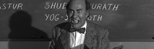 Carl Reiner as Professor Peabody from Night Gallery