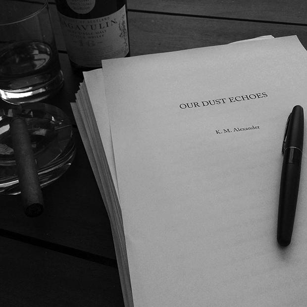 Our Dust Echoes - Final Rough Manuscript