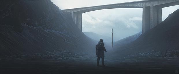 Excalibur by Yuri Shwedoff