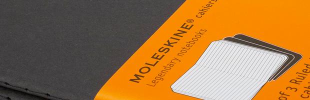 Moleskine cahier journal