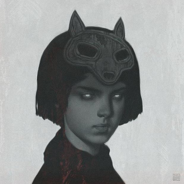 Werewolf by Yuri Shwedoff