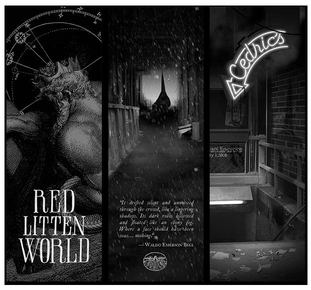 Red Litten World Bookmarks
