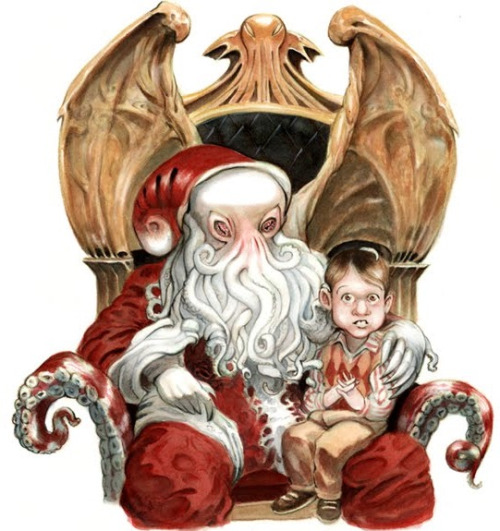 Cthulhu Santa by Scott Brundage