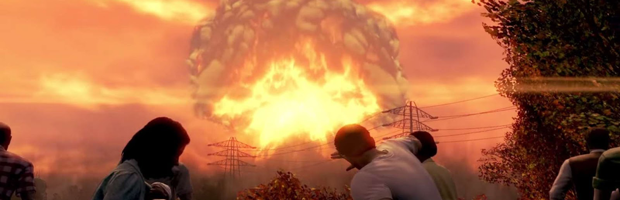 Fallout 4 Intro: The Big One Hits