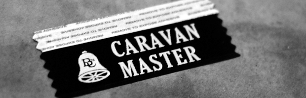 Caravan Master Badge Ribbon