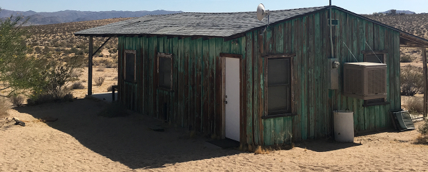 Joshua Tree Homesteader Cabin or Fallout set piece?