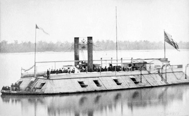 USS St. Louis later renamed the USS Baron Dekalb