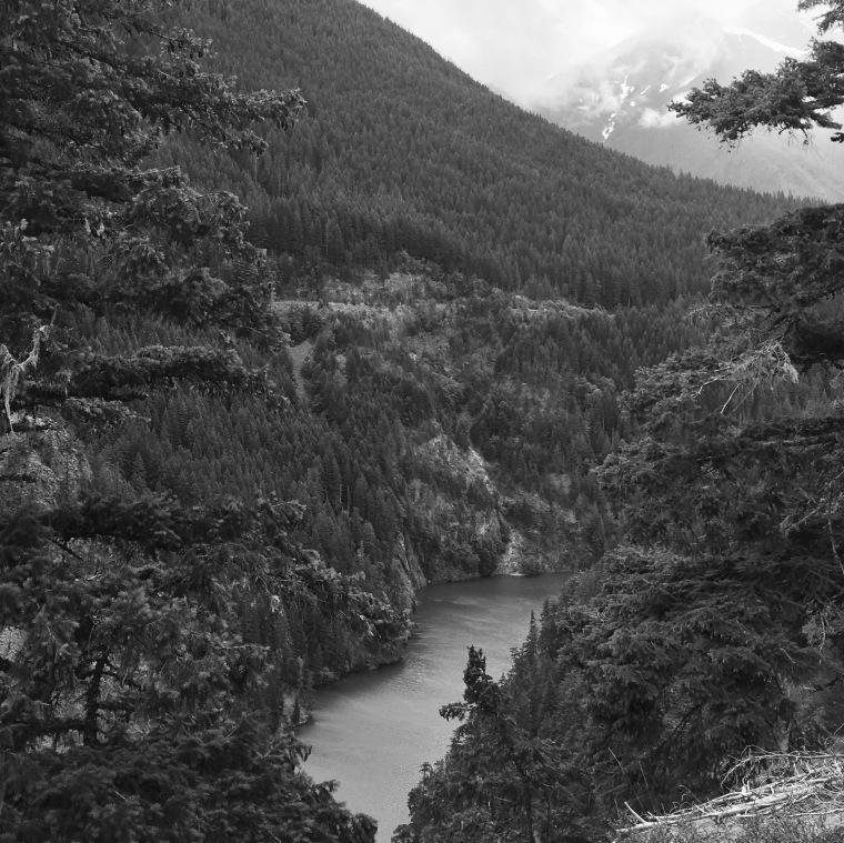 Glacial fed subalpine lakes