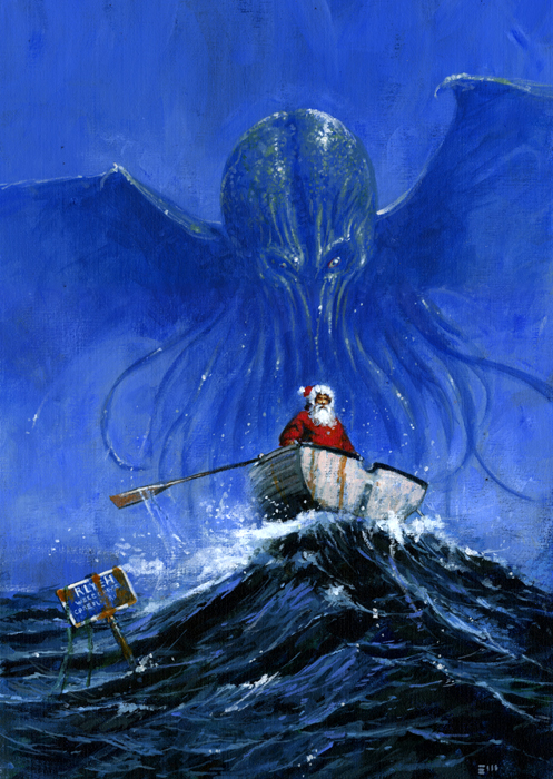 Les Edwards - Christmas For Cthulhu