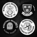 Miskatonic Pin Collection
