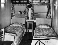 Passenger Cabin onboard the Delta Queen