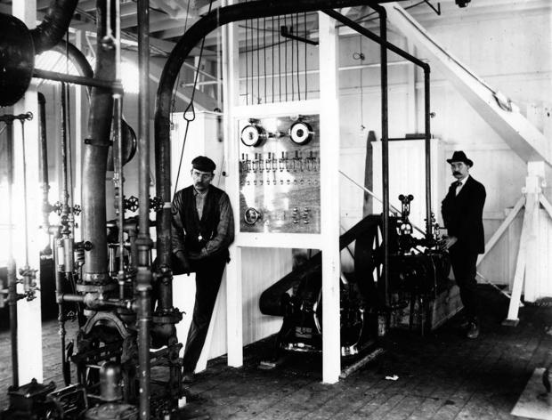 Engine Room of the Str. Senator Cordill