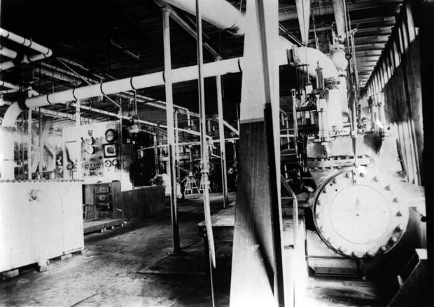 Engine Room of the Str. Sprague