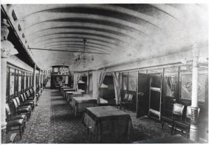 Main Salon of the Str. Big Foot's Boiler Deck
