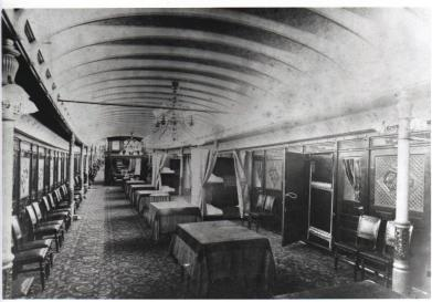 Main Salon of the Str. Big Foot's Boiler Deck