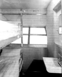 Cabin onboard the LZ-130 Graf Zeppelin II