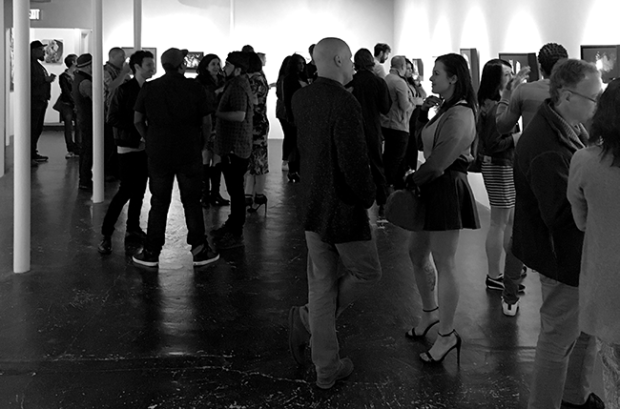 Opening Night at Thinkspace Gallery