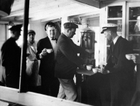 Coffee aboard the Str. Senator Cordill
