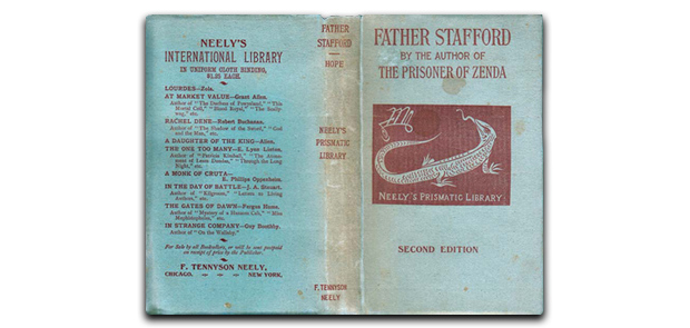 Father Stafford by Anthony Hope, published by F. Tennyson Neely