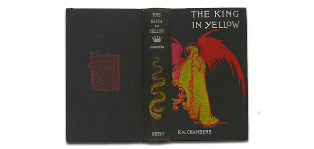 The King in Yellow by Robert W. Chambers, published by F. Tennyson Neely
