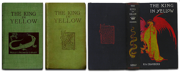 The King in Yellow First Edition Covers