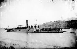 Confederate Ram Atlanta After Being Captured - James River, VA, 1863