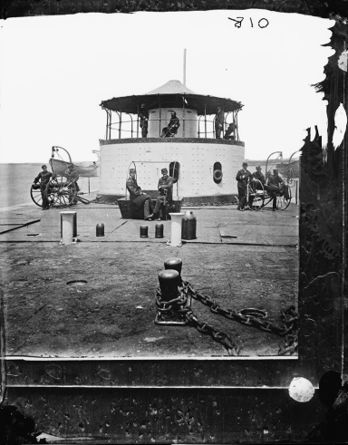 Officers of USS Monitor Catskill