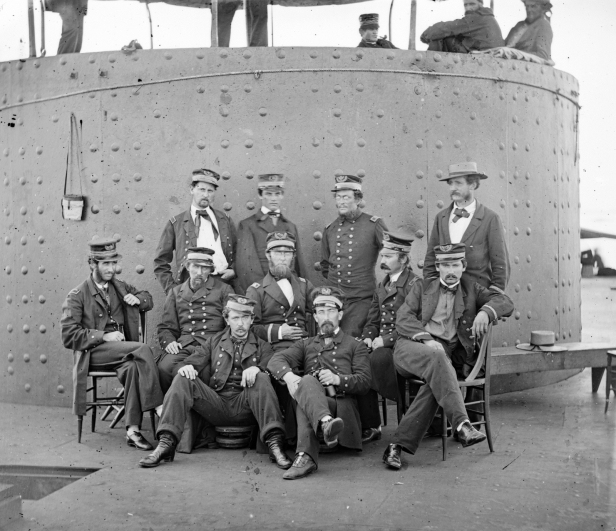 Officers of the USS Monitor