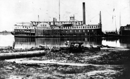 The USS Redrover, a Confederate boat captured by the Union and turned into a hospital boat