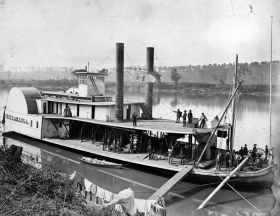 Federal transport packet Str. Chickamauga