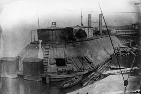 USS Essex in berth